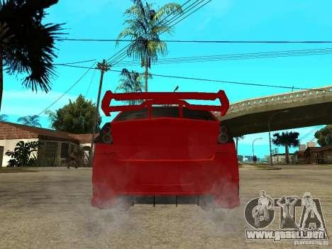 Dacia Logan Tuned v2 para GTA San Andreas vista posterior izquierda