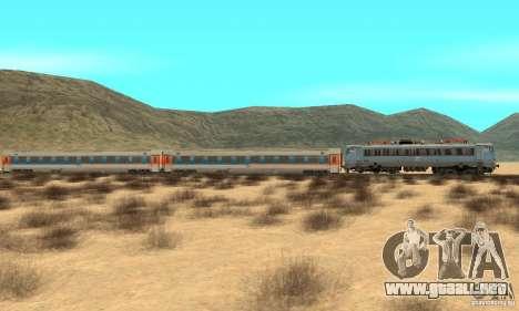 Mav V63 w AMX Inter-City Wagons para GTA San Andreas left