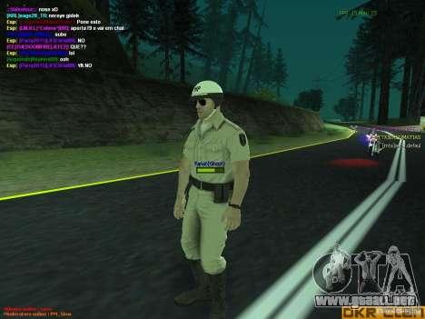 HQ texture for MP para GTA San Andreas segunda pantalla