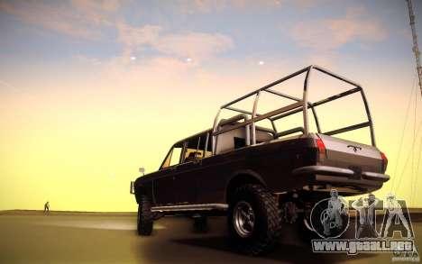 GAZ 2402 4 x 4 PickUp para GTA San Andreas vista hacia atrás