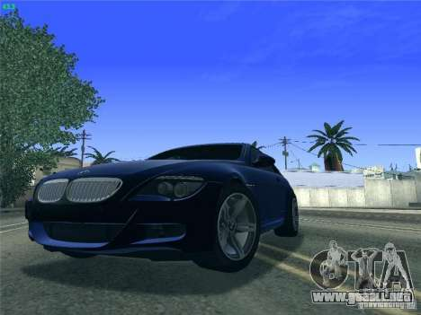 BMW M6 2010 Coupe para GTA San Andreas left