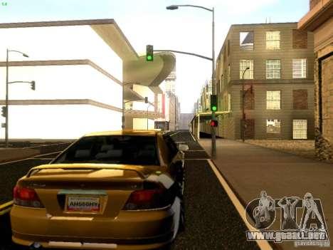 Mitsubishi Galant 2002 para la visión correcta GTA San Andreas