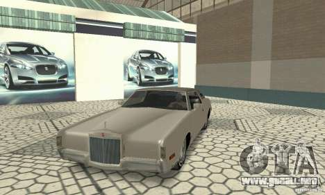 Lincoln Continental Mark IV 1972 para GTA San Andreas left