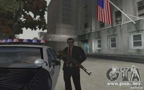 Animación de GTA IV v 2.0 para GTA San Andreas quinta pantalla