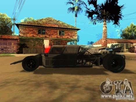 Fast & Furious 6 Flipper Car para la visión correcta GTA San Andreas