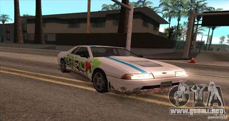 Paintjob for Elegy para GTA San Andreas left