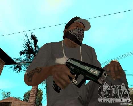 Walther cp99 para GTA San Andreas segunda pantalla