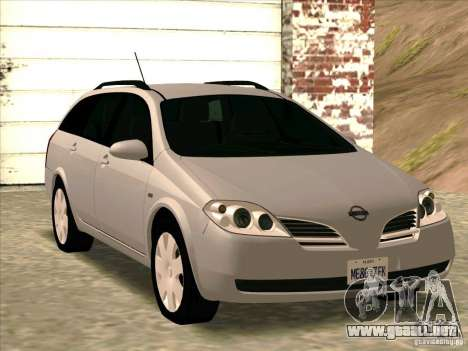 Nissan Primera Wagon para GTA San Andreas