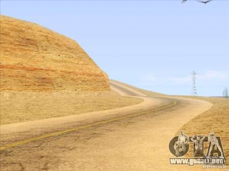 HQ Country Desert v1.3 para GTA San Andreas octavo de pantalla
