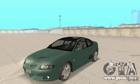 Vauxhall Monaro VXR Open SKY 2004 para GTA San Andreas