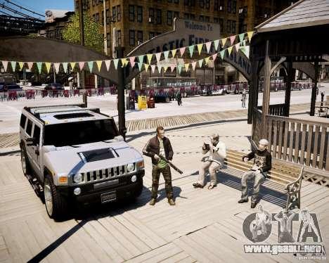 CoD Black Ops Hudson para GTA 4 tercera pantalla