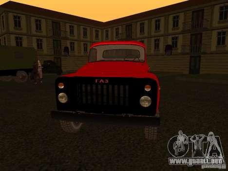 GAZ 53 camiones para GTA San Andreas left