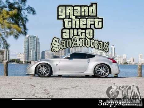 Nuevas pantallas de carga 2011 para GTA San Andreas sexta pantalla