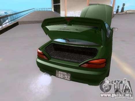 Nissan Silvia S15 drift para la vista superior GTA San Andreas