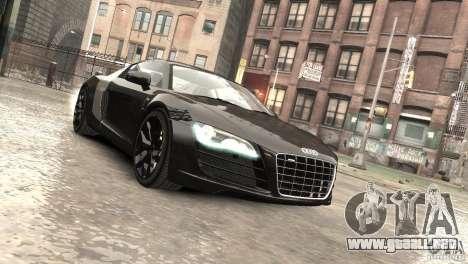 Audi R8 V10 2010 [EPM] para GTA 4 vista lateral