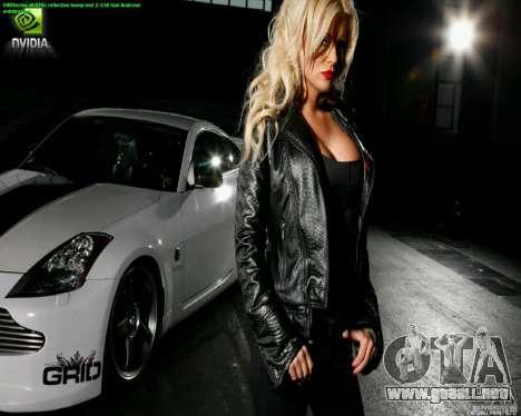 Pantallas de carga y auto chicas para GTA San Andreas segunda pantalla