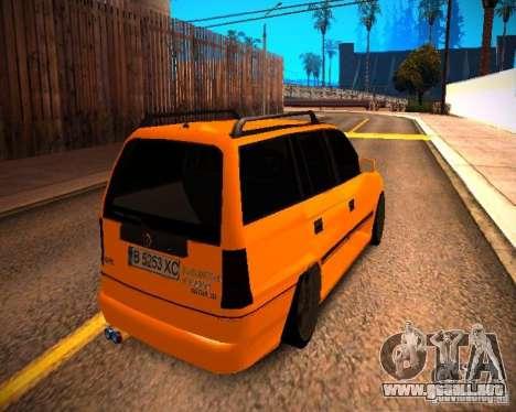 Opel Astra GSI Caravan para GTA San Andreas left