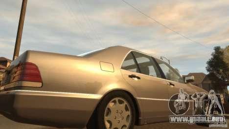 Mersedes-Benz 500SE Wheels 2 para GTA 4 Vista posterior izquierda