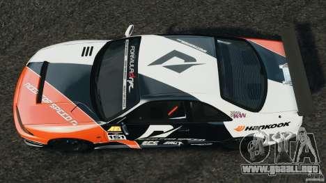 Nissan Skyline GT-R (R33) v1.0 para GTA 4 visión correcta
