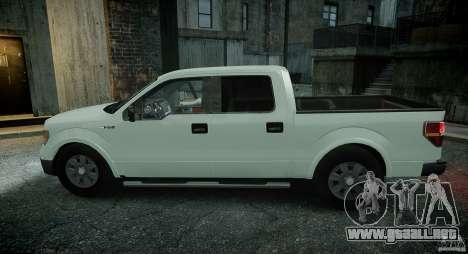 Ford F150 XLT v1.3 para GTA 4 vista hacia atrás