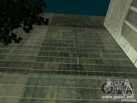 Nuevo hospital Hospital-nuevo para GTA San Andreas sucesivamente de pantalla