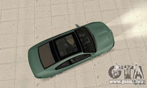 Vauxhall Monaro VXR Open SKY 2004 para la visión correcta GTA San Andreas