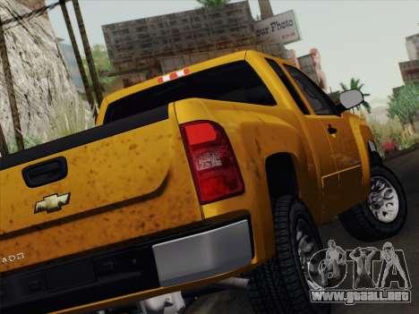 Chevrolet Silverado 2500HD 2013 para la visión correcta GTA San Andreas