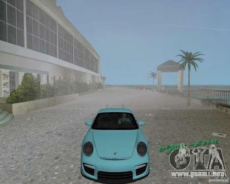 Porsche 911 GT2 para GTA Vice City left