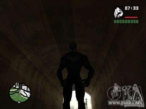 Enemigo del hombre araña en la reflexión para GTA San Andreas octavo de pantalla