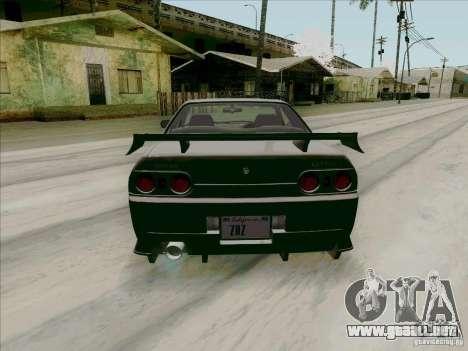 Nissan Skyline GTS-T para la visión correcta GTA San Andreas