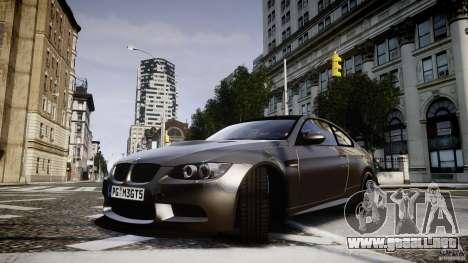 BMW M3 GT-S V.1.0 para GTA 4 vista hacia atrás