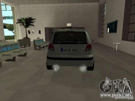 Hyundai Getz para la visión correcta GTA San Andreas