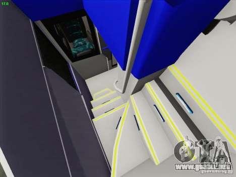 Marcopolo Paradiso 1800 DD Navette XL Coomotor para el motor de GTA San Andreas