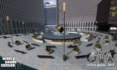 World Trade Center para GTA 4 tercera pantalla