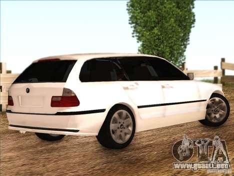 BMW M3 E46 Touring para la visión correcta GTA San Andreas