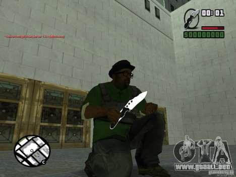 Black Weapon by ForT para GTA San Andreas séptima pantalla