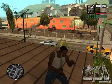 Cuchillo para GTA San Andreas tercera pantalla