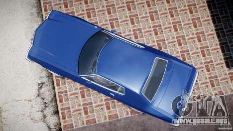 Ford Gran Torino 1975 para GTA 4 visión correcta