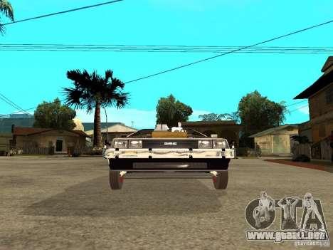 DeLorean DMC-12 para la visión correcta GTA San Andreas