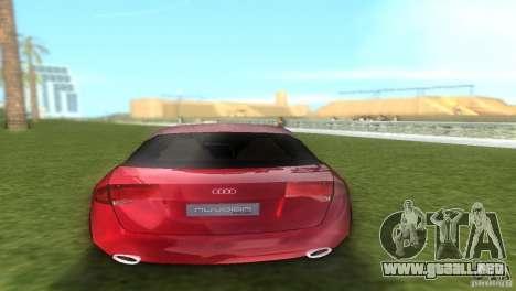Audi Nuvolari Quattro para GTA Vice City vista lateral izquierdo