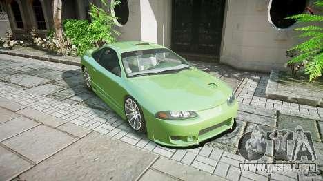 Mitsubishi Eclipse para GTA 4 visión correcta