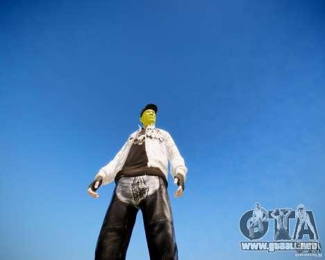 Niko The Mask para GTA 4 segundos de pantalla