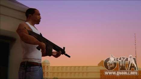 SCAR - H para GTA San Andreas quinta pantalla