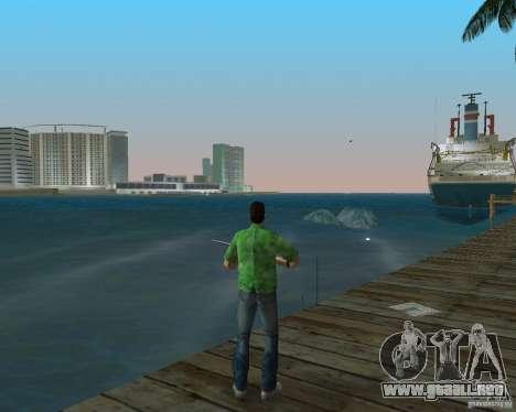 Agua nueva, periódicos, hojas, luna para GTA Vice City segunda pantalla