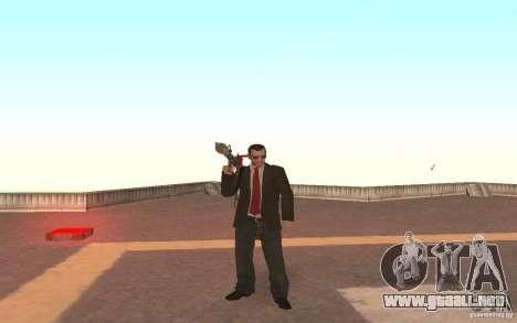 Unique animation of GTA IV V3.0 para GTA San Andreas quinta pantalla