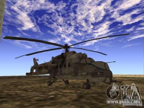 Mi-24 de COD MW 2 para GTA San Andreas