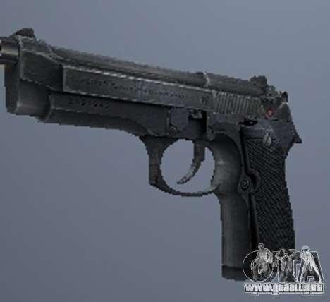 Un conjunto de armas de acosador V3 para GTA San Andreas séptima pantalla