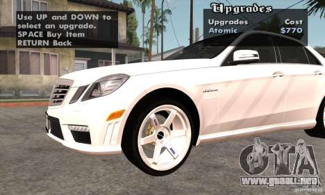 Wheels Pack by EMZone para GTA San Andreas tercera pantalla