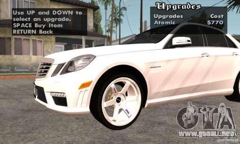 Wheels Pack by EMZone para GTA San Andreas tercera pantalla