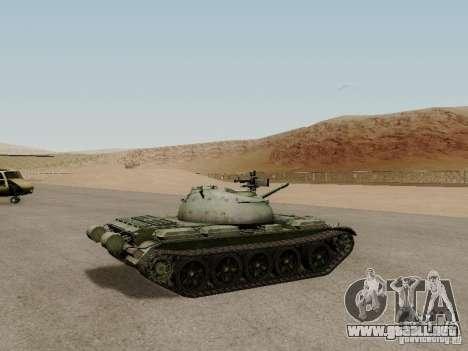 Type 59 para GTA San Andreas vista posterior izquierda